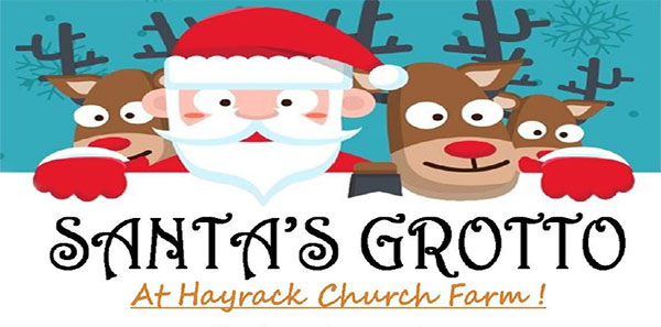 Santas Grottom Hayrack Church Farm